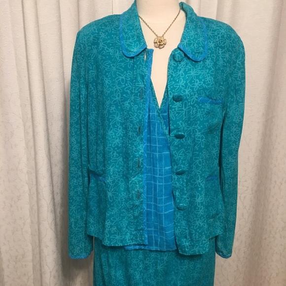 Carole Little Dresses & Skirts - Vintage 80s Carole Little 3 piece skirt and tops